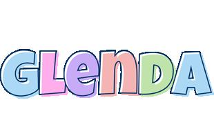 Glenda pastel logo