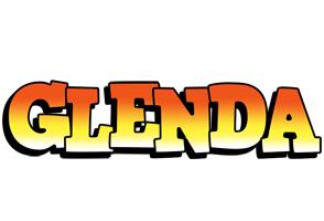 Glenda sunset logo