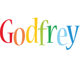 Godfrey birthday logo