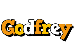 Godfrey cartoon logo
