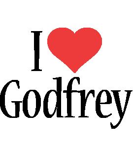 Godfrey i-love logo