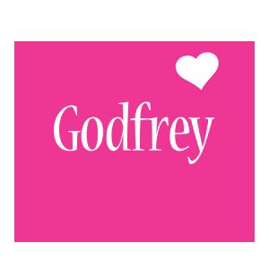 Godfrey love-heart logo