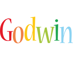 Godwin birthday logo