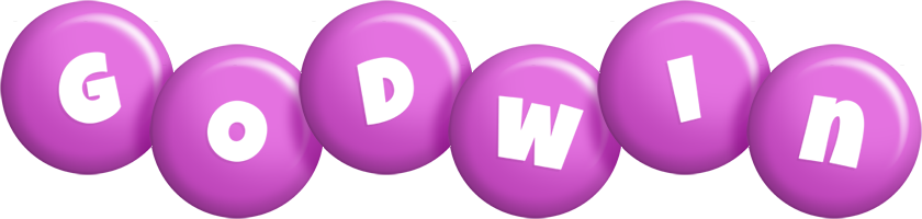 Godwin candy-purple logo