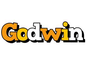 Godwin cartoon logo