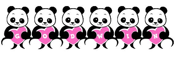 Godwin love-panda logo