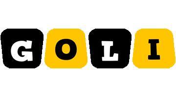 Goli boots logo