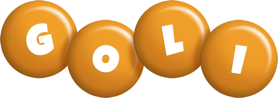 Goli candy-orange logo