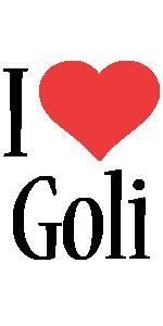 Goli i-love logo