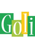 Goli lemonade logo
