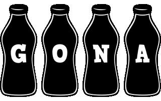 Gona bottle logo