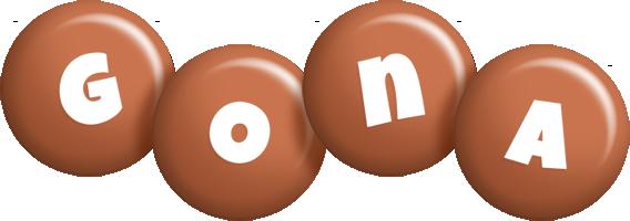 Gona candy-brown logo