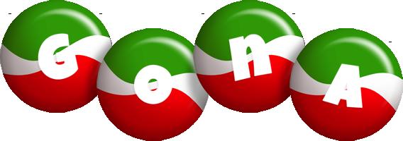 Gona italy logo