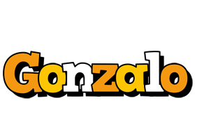 Gonzalo cartoon logo