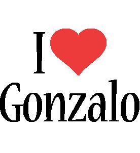 Gonzalo i-love logo