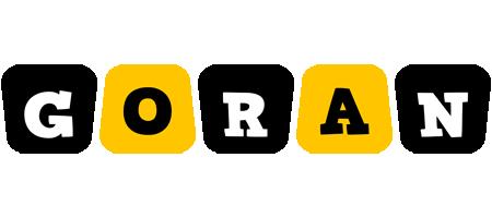 Goran boots logo