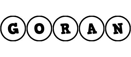 Goran handy logo