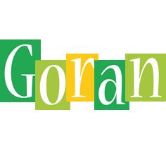 Goran lemonade logo