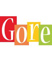 Gore colors logo