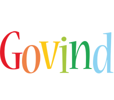 Govind birthday logo