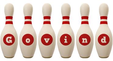 Govind bowling-pin logo