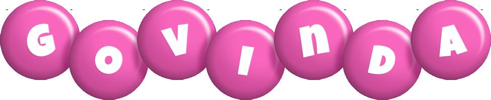 Govinda candy-pink logo