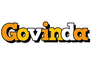 Govinda cartoon logo