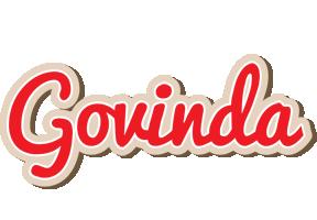 Govinda chocolate logo