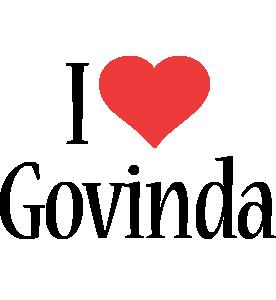 Govinda i-love logo