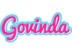 Govinda popstar logo