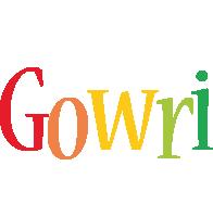 Gowri birthday logo