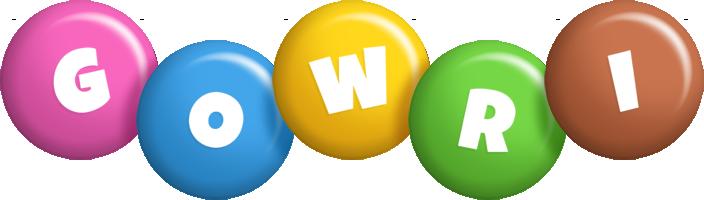 Gowri candy logo