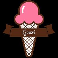 Gowri premium logo