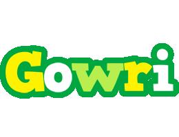 Gowri soccer logo