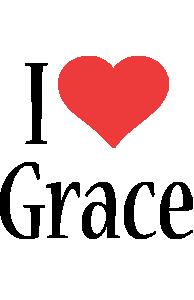 Grace i-love logo