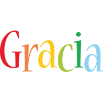 Gracia birthday logo