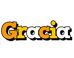 Gracia cartoon logo