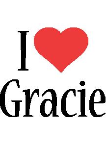 Gracie i-love logo