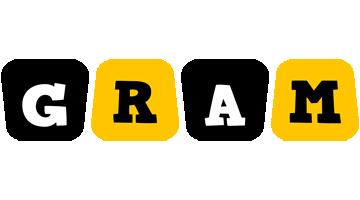 Gram boots logo
