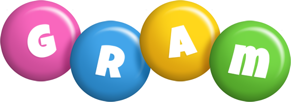 Gram candy logo
