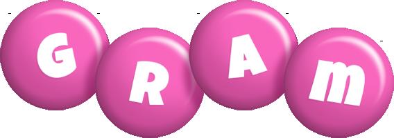 Gram candy-pink logo