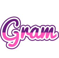 Gram cheerful logo