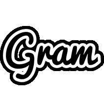 Gram chess logo