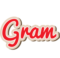 Gram chocolate logo