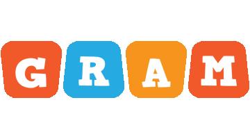 Gram comics logo