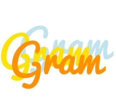 Gram energy logo