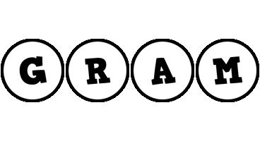 Gram handy logo