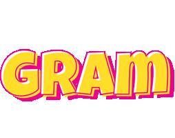 Gram kaboom logo