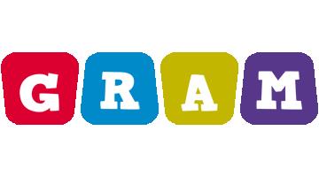 Gram kiddo logo