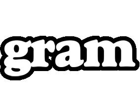 Gram panda logo
